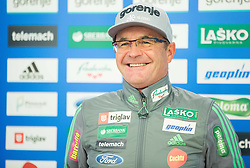 Stane Baloh during official presentation of the outfits of the Slovenian Ski Teams before new season 2015/16, on October 6, 2015 in Kulinarika Jezersek, Sora, Slovenia. Photo by Vid Ponikvar / Sportida