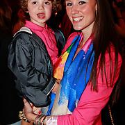 NLD/Amsterdam/20110413 - Mama of the Year award 2011, Danielle van Aalderen en zoon Willem