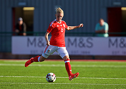YSTRAD MYNACH, WALES - Wednesday, April 5, 2017: Wales' Sophie Ingle in action during the Women's International Friendly match against Northern Ireland at Ystrad Mynach. (Pic by Laura Malkin/Propaganda)