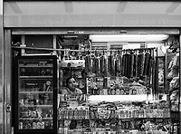A Newsstand at 86th street in  New York City