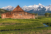 John Moulton Barn and Teton Range