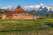 John Moulton Barn and Teton Range