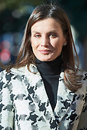 010920 Queen Letizia attends a Meeting with the Board of Directors of FEDER