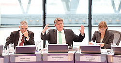 MOPAC Challenge <br /> Child Sexual Exploitation<br /> meeting at City Hall <br /> chaired by Stephen Greenhalgh, Deputy Mayor for Policing & Crime in The Chamber City Hall, London, Great Britain <br /> 10th June 2015 <br /> <br /> Stephen Greenhalgh <br /> <br /> with <br /> <br /> Steve O'Connell <br /> Jonathan Glanz<br /> Keith Prince <br /> Helen Bailey <br /> <br /> <br /> <br /> Photograph by Elliott Franks <br /> Image licensed to Elliott Franks Photography Services