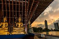 Seema Malaka Buddhist temple, Colombo, Sri Lanka.