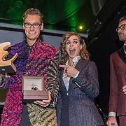 NLD/Amsterdam/20191114 - Uitreiking Esquires Best Geklede Man 2019, Splinter Chabot wordt uitgeroepen tot Best Geklede Man 2019