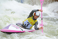 ICF Canoe slalom world cup at the Cardiff white water centre in Cardiff, South Wales on Sunday 10th June 2012.  pic by Andrew Orchard, Andrew Orchard sports photography,