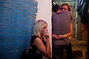 "Club Finale in Prague 3 during the music festival event ""Zizkov night"" (Zizkovska noc)."