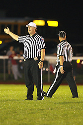 7 September 2012: Heyworth High School Hornets v Ridgeview Mustangs Football in Colfax Illinois