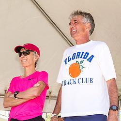 41st Falmouth Road Race: Joan Samuelson, Frank Shorter