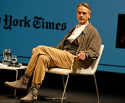 Jeremy Irons at a New York Times interview forum in Madrid, Spain, Friday 21st September 2012.  Eduardo Dieguez/ DyD Fotografos/ i-Images