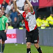 NLD/Rotterdam/20100919 - Voetbalwedstrijd Feyenoord - Ajax 2010, Tim de Cler