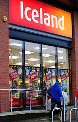 File photo dated 31/12/13 of an Iceland shop, as the supermarket has posted rising full year profits after reaping the rewards of revamped product ranges and a new store format.