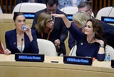 New York: Wonder Woman UN Ambassador Ceremony, 21 Oct. 2016