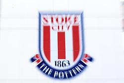 9 September 2017 -  Premier League - Stoke City v Manchester United - Zoom burst of the Stoke City FC club logo - Photo: Marc Atkins/Offside