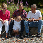 GEORGETOWN, Maine -- 8/27/13 -- Zike Family Portraiture. Photo © 2013 by Roger S. Duncan.