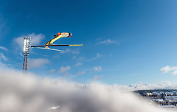 24.02.2017, Lahti, FIN, FIS Weltmeisterschaften Ski Nordisch, Lahti 2017, Nordische Kombination, Skisprung, im Bild Joergen Graabak (NOR) // Joergen Graabak of Norway during Skijumping of Nordic Combined competition of FIS Nordic Ski World Championships 2017. Lahti, Finland on 2017/02/24. EXPA Pictures © 2017, PhotoCredit: EXPA/ JFK