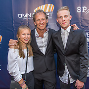 NLD/Apeldoorn/20170902 - premiere Spaak, regisseur Steven de Jong en kinderen