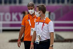 Van Der Vleuten Maikel, NED, Van Der Vleuten Eric, NED<br /> Olympic Games Tokyo 2021<br /> © Hippo Foto - Dirk Caremans<br /> 07/08/2021