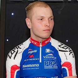 19-02-2016: Wielrennen: Teampresentatie Cyclingteam Jo Piels: Venray  <br />VENRAY (NED) wielrennen<br />In de Witte Hoeve in Venray werd het cyclingteam Jo Piels gepresenteerd. De ploeg was in 2015 een van de uitblinkers in de topcompetitie. Jelle Wolsink,(Hengelo)