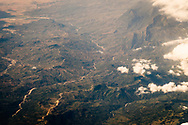 East Timor Leste from above aerial view