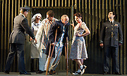 Xerxes<br /> by Handel<br /> translation by Nicholas Hytner<br /> English Touring Opera<br /> at The Royal College of Music, London, Great Britain <br /> 7th October 2011 <br /> <br /> Julia Riley (as Xerxes)<br /> Laura Mitchell (as Romilda)<br /> Nicholas Merryweather (as Elviro)<br /> Rachael Lloyd (as Amastris)<br /> Clint van der Linde (as Arsamenes)<br /> Andrew Slater (as Ariodates)<br /> Photograph by Elliott Franks