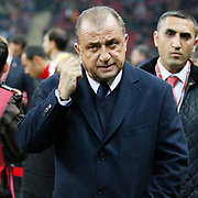 Turkey's coach Fatih Terim during their UEFA Euro 2016 qualification Group A soccer match Turkey between Kazakhstan at AliSamiYen Arena in Istanbul November 16, 2014. Photo by Kurtulus YILMAZ/TURKPIX