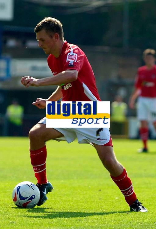 Photo: Alan Crowhurst.<br />Wycombe Wanderers v Wrexham. Coca Cola League 2.<br />05/08/2006. Wrexham's Darren Ferguson.