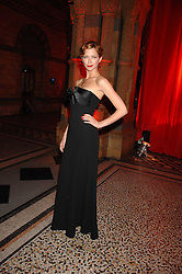 MARGO STILLEY at a dinner held at the Natural History Museum to celebrate the re-opening of their store at 175-177 New Bond Street, London on 17th October 2007.<br />