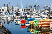 Boats at Oceanside Harbor