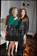 LISA BUTCHER; AMBER DONOSO, White By Agadir -  launch party <br /> to promote the Moroccan resort of Agadir , Il Bottaccio, 9 Grosvenor Place, London, 4 November 2014