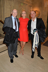 Left to right, JOHN MORTON, HELEN FOSPERO and JOE ROCKEY at the opening night of Cirque du Soleil's award-winning production of Quidam at the Royal Albert Hall, London on 7th January 2014.