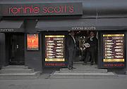 Ronnie Scott's jazz club, Soho,  London, England