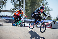 #24 (SHARRAH Corben) USA at round 8 of the 2018 UCI BMX Supercross World Cup in Santiago del Estero, Argentina.