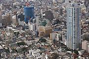 Japan, Tokyo, Shinjuku Elevated view