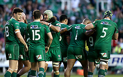 London Irish celebrate Brendan McKibbin of London Irish scoring a try - Mandatory by-line: Robbie Stephenson/JMP - 24/05/2017 - RUGBY - Madejski Stadium - Reading, England - London Irish v Yorkshire Carnegie - Greene King IPA Championship Final 2nd Leg