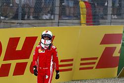 July 22, 2018 - Hockenheim, Germany - Motorsports: FIA Formula One World Championship 2018, Grand Prix of Germany, .#5 Sebastian Vettel (GER, Scuderia Ferrari) (Credit Image: © Hoch Zwei via ZUMA Wire)