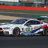 #81, BMW Team MTEK, BMW M8 GTE, LMGTE Pro, driven by: Martin Tomczyk, Nicky Catsburg at FIA WEC Silverstone 6h, 2018 on 17.08.2018