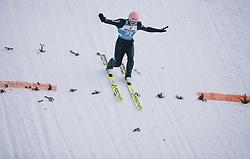 31.12.2019, Olympiaschanze, Garmisch Partenkirchen, GER, FIS Weltcup Skisprung, Vierschanzentournee, Garmisch Partenkirchen, Qualifikation, im Bild Karl Geiger (GER) // Karl Geiger of Germany during his qualification Jump for the Four Hills Tournament of FIS Ski Jumping World Cup at the Olympiaschanze in Garmisch Partenkirchen, Germany on 2019/12/31. EXPA Pictures © 2019, PhotoCredit: EXPA/ JFK