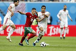 (l-r) Amine Harit of Morocco, Vahid Amiri of IR Iran