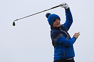 Thomas Plunkett (Crover House) on the 4th tee during Round 3 of The West of Ireland Open Championship in Co. Sligo Golf Club, Rosses Point, Sligo on Saturday 6th April 2019.<br /> Picture:  Thos Caffrey / www.golffile.ie