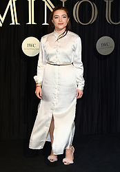 Florence Pugh attending the BFI's Luminous fundraising gala, held at the Guildhall, London. Picture date: Tuesday October 3rd, 2017. Photo credit should read: Doug Peters/EMPICS Entertainment
