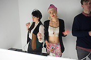 LUCKY V; SYRON ( DAISY TALLULAH SYRON ), Casio Tokyo Trio Watch  launch party  hosted by My Flash Trash. The Study, 10a Blandford Street, London. 28 January 2013
