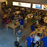 Apple Store on Fifth Avenue inside, New York