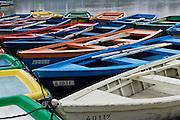 Israel, Tel Aviv, Rowing boats on the Yarkon River