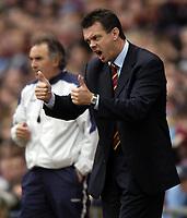Photo: Richard Lane.<br /> Aston Villa v Chelsea. Barclaycard Premiership. 12/04/2004.<br /> David O'Leary.