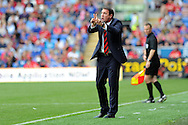 Cardiff city manager Malky Mackay. Barclays Premier league, Cardiff city v Everton at the Cardiff city Stadium in Cardiff,  South Wales on Saturday 31st August 2013. pic by Andrew Orchard,  Andrew Orchard sports photography,
