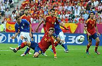 """Occasione gol MARCHISO (Italia)<br /> Danzica 10/06/2012  """"GDANSK ARENA""""<br /> Football calcio Europeo 2012  Spagna Vs Italia <br /> Football Calcio Euro 2012<br /> Foto Insidefoto Alessandro Sabattini"""