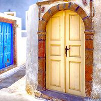 Megalohori is a delightful sleepy traditional village and hidden gem on the hugely popular Greek island of Santorini.
