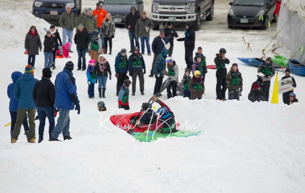 3rd annual Boat Bash Snow Crash at Veteran's Memorial Ski Hill in Franklin.  Karen Bobotas for the Laconia Daily Sun